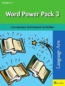 Word Power Pack 3 for Grades 5 6 PDF