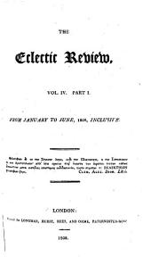 The Eclectic Review: Volume 7, Part 1