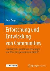 Erforschung und Entwicklung von Communities PDF