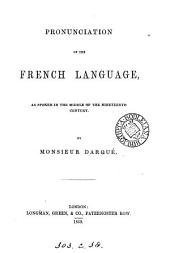 Pronunciation of the French language