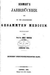 Schmidt's Jahrbücher der in- und ausländischen gesammten Medizin: Ausgaben 193-194