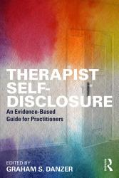 Therapist Self Disclosure Book PDF