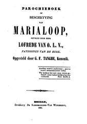 Parochieboek beschrijving van Marialoop
