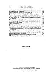 Notions fondamentales de mécanique et données d'expérience