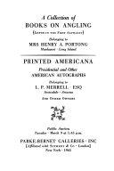 Catalogues of sales (no. 2001-2500)
