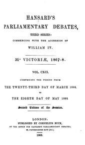 The Parliamentary Debates (Authorized Edition)