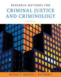 Research Methods For Criminal Justice And Criminology Book PDF
