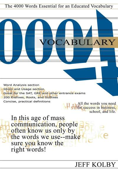 Download Vocabulary 4000 Book
