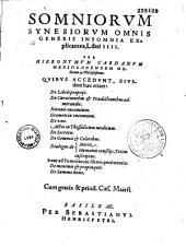 Hieronymi Cardani,...Tractatus varii
