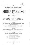 The History and Development of Sheep Farming from Antiquity to Modern Times PDF