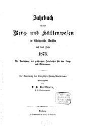 Jahrbuch für das Berg- und Hüttenwesen im Königreiche Sachsen: 1873