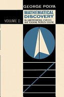 Mathematical Discovery on Understanding  Learning  and Teaching Problem Solving PDF