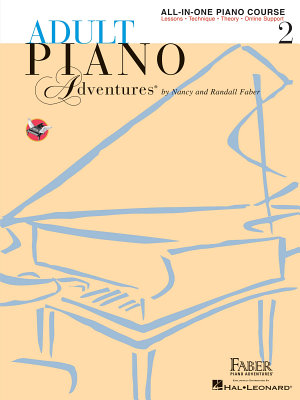 Adult Piano Adventures All-in-One Piano Course Book 2