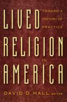 Lived Religion in America PDF
