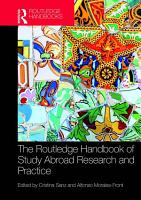 The Routledge Handbook of Study Abroad Research and Practice PDF