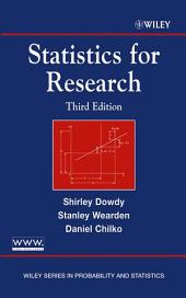 Statistics for Research: Edition 3