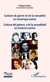 Culture du genre et de la sexualité en Amérique latine: Cultura del género y de la sexualidad en América latina