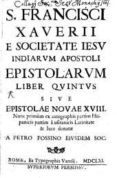 Epistolarum liber quintus