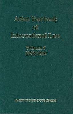 Asian Yearbook of International Law  Volume 8  1998 1999  PDF