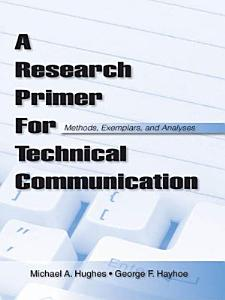 A Research Primer for Technical Communication PDF