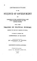 Introduction to the Science of Government and Compend of the Constitutional and Civil Jurisprudence of the United States PDF