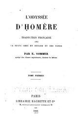 L'Odyssée d'Homere: traduction française avec le texte grec en regard et des notes, Volume1