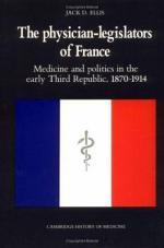 The Physician-Legislators of France