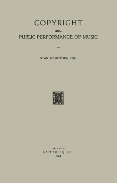 Copyright and Public Performance of Music