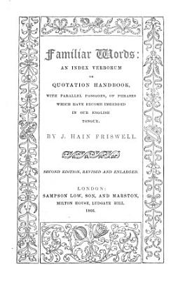 Familiar Words PDF