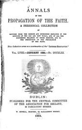 Annals of the Propagation of the Faith: Volume 58