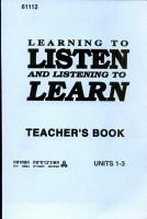 Learning to Listen and Listening to Learn PDF