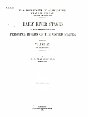 Daily River Stages at River guage Stations on the Principal Rivers of the United States for the Years 1858  PDF