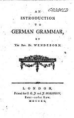 An Introduction to German Grammar