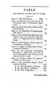 Considérations sur la France: Nour. éd., revue par láuteur