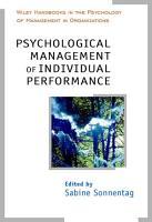Psychological Management of Individual Performance PDF