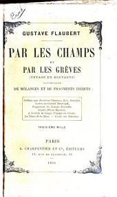 Par les champs et par les grèves: (voyage en Bretagne); accompagné de mélanges et de fragments inédits