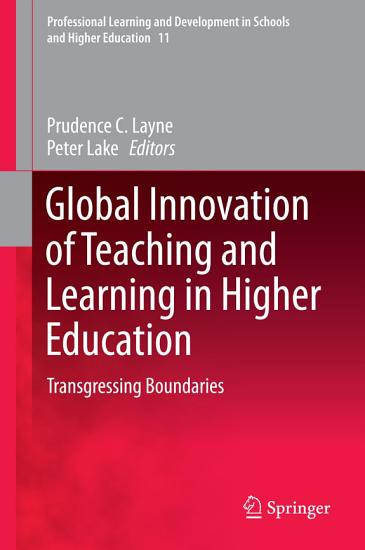 Global Innovation of Teaching and Learning in Higher Education PDF