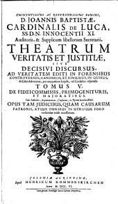 Theatrum veritatis et justitiae ...