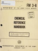Chemical Reference Handbook PDF