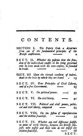 An Essay Upon the True Principles of Civil Liberty, and of Free Government,: Occasioned by the Levelling Doctrines of the Day, in which is Also Discussed the Roman Catholic Claim to the Elective Franchise in Ireland, Volume 8