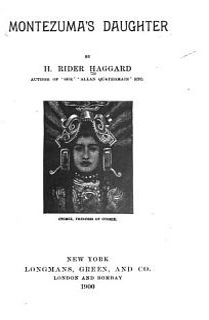 Montezuma s Daughter Book