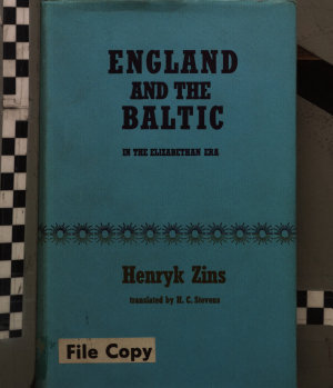 England and the Baltic in the Elizabethan Era PDF