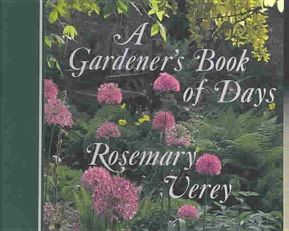 A Gardener S Book Of Days