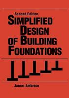 Simplified Design of Building Foundations PDF