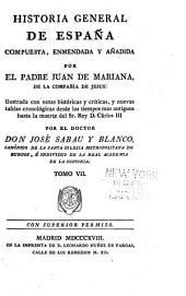 Historia general de España: Volumen 7