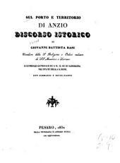 Sul porto e territorio di Anzio: discorso istorico con sommario
