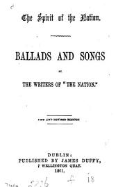 The spirit of the nation, ballads and songs, with music