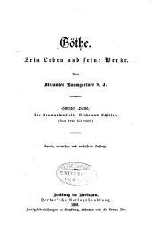 Göthe: bd. Die revolutionszeit. Göthe und Schiller. (Von 1790 bis 1805)