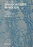 Dislocations in Solids PDF
