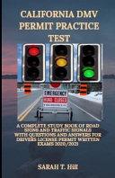 California DMV Permit Practice Test PDF